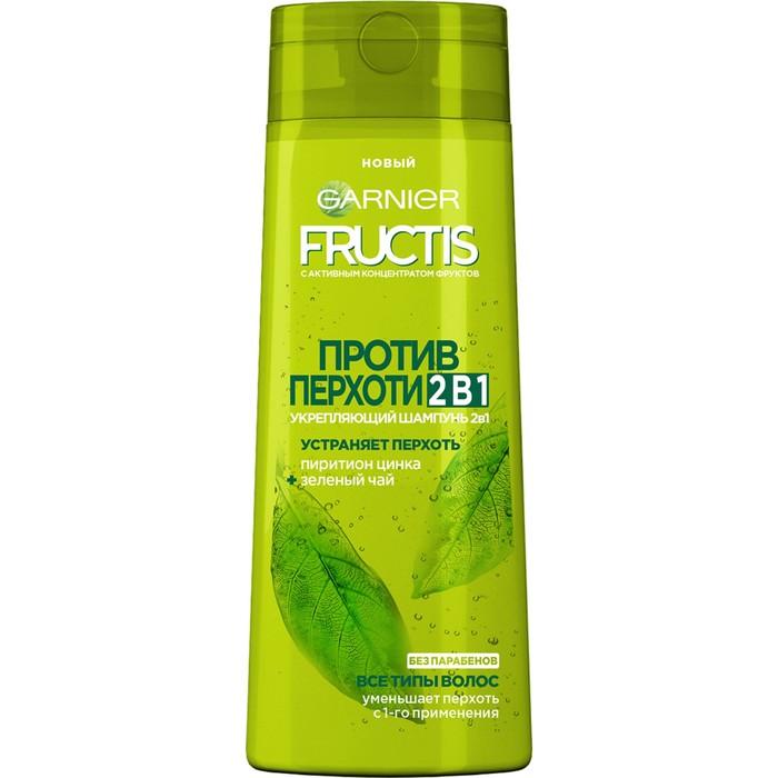 Шампунь Фруктис Против Перхоти (Пиритион Цинкая, Зеленый Чай) для всех типов волос 250 мл