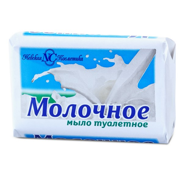 Мыло Невская Косметика Молочное 90 г