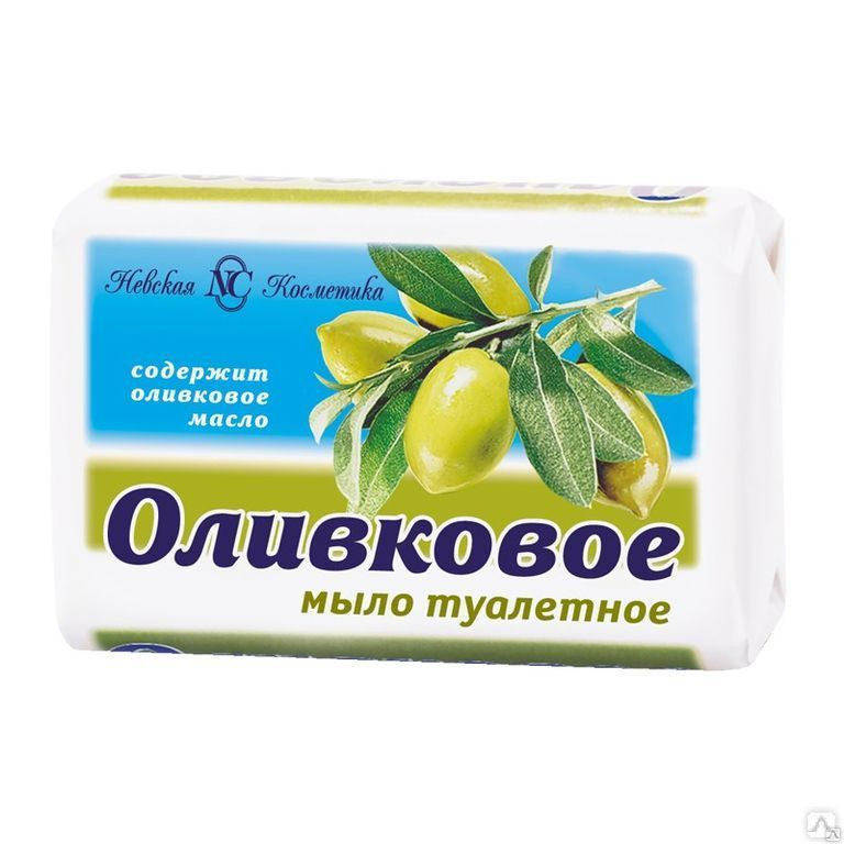 Мыло Невская Косметика Оливковое 90 г