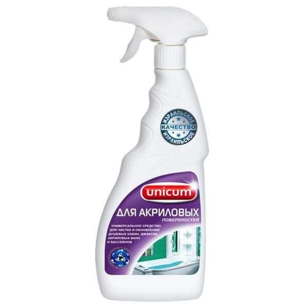 Спрей для чистки ванн и душевых кабин Unicum 500мл