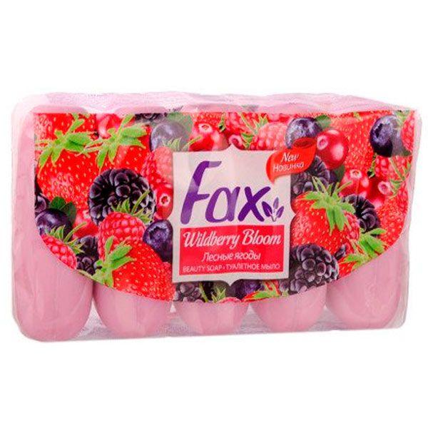Туалетное мыло Факс Лесные ягоды 5х75 г