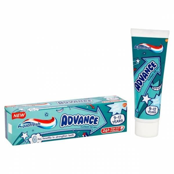 Зубная паста Аквафреш Детская Advance (9-13 лет) 75 мл