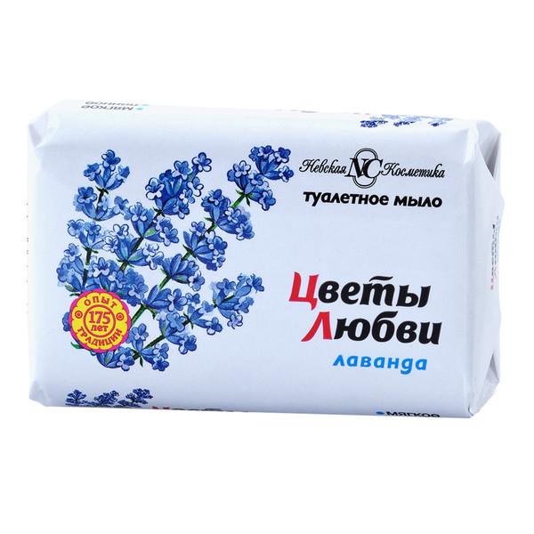 Мыло Цветы Любви Лаванда 90 г