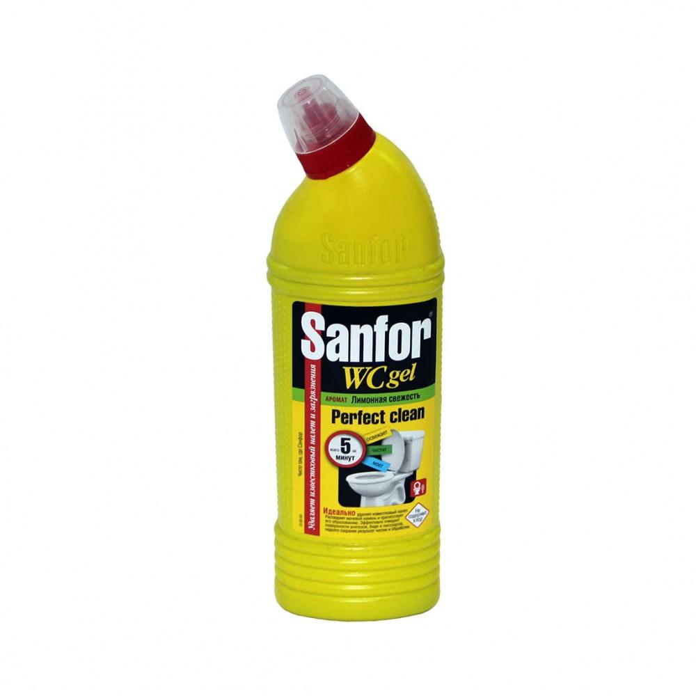 Средство для чистки и дезинфекции Sanfor Универсал Лимон 10в1 750г