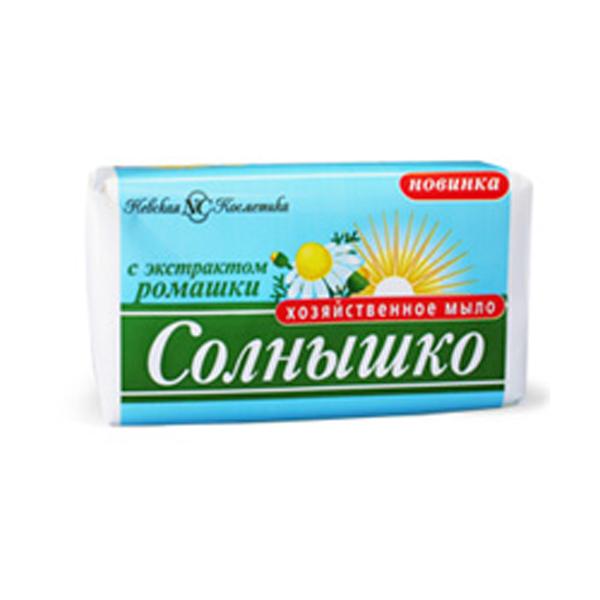 Мыло хозяйственное Солнышко Ромашка 140 г