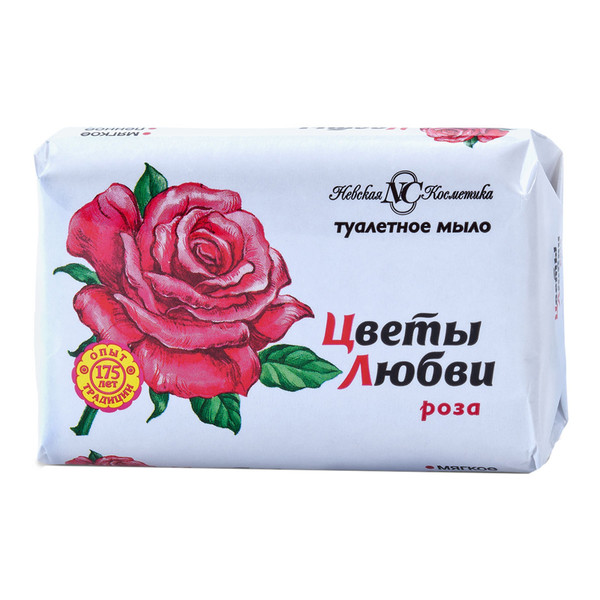 Мыло Цветы Любви Роза 90 г