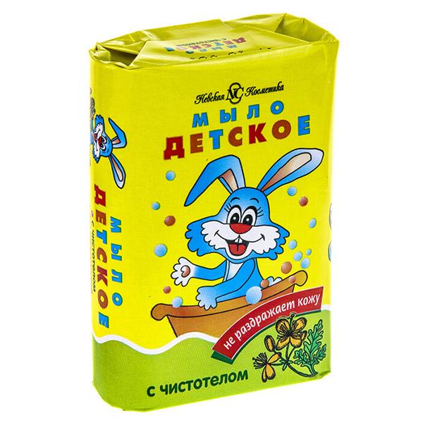 Мыло Невская Косметика Детское Чистотел 90 г