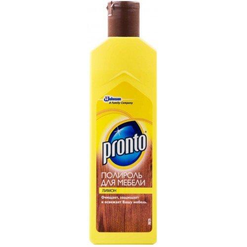 Полироль для мебели Пронто Крем Лимон 300г