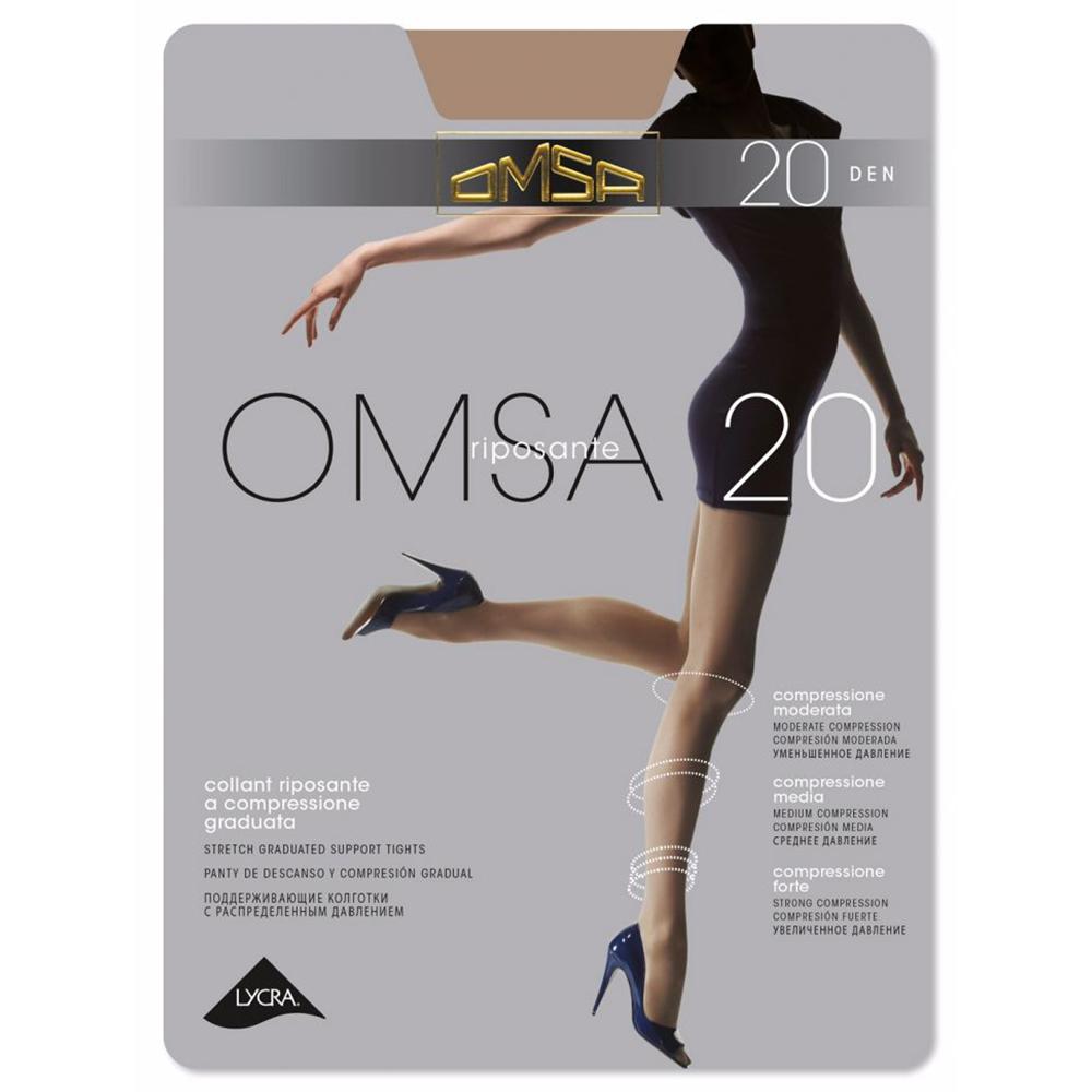 Колготки Омса OMSA 20 (С шортиками)