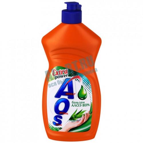 Средство для мытья посуды АОС Алоэ Вера 450мл