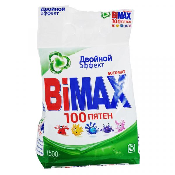 Стиральный порошок Бимакс 100 Пятен 1,5кг