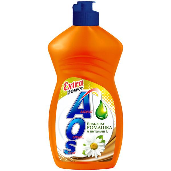 Средство для мытья посуды АОС Ромашка и Витамин Е 450мл