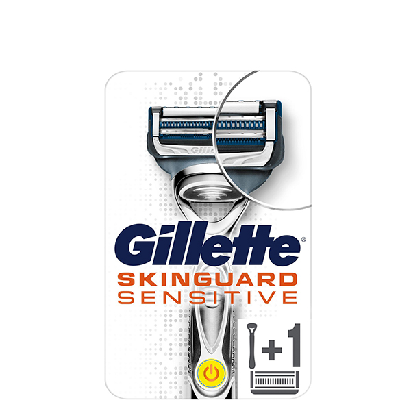 Станок Gillette SKINGUARD Sensitive 1 кассета