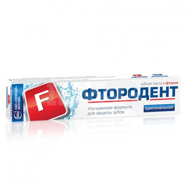 Зубная паста Фтородент Оригинальная 62г