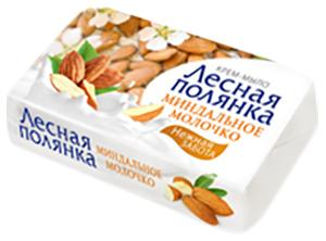 Мыло Лесная полянка Миндальное молочко 90г