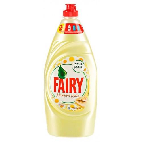 Средство для мытья посуды Фейри Ромашка и витамин Е 900мл