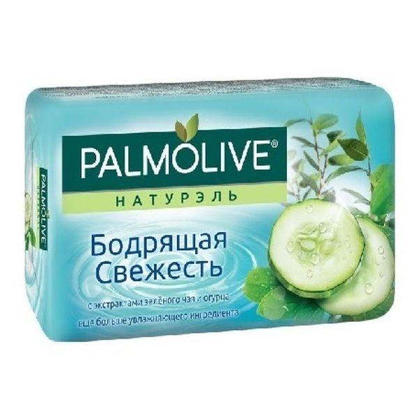 Мыло Палмолив Натурэль Бодрящая свежесть (с экстрактами зеленого чая и огурца) 90г
