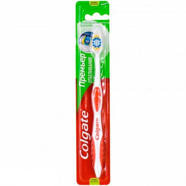 Зубная щетка Колгейт Премьер Отбеливание